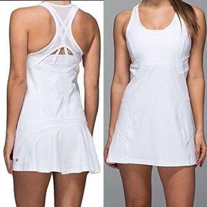 Lululemon Ace Tennis Mesh Racerback Dress